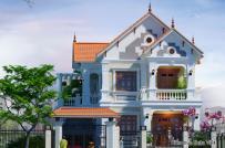 Tư vấn thiết kế biệt thự 2 tầng đẹp ở Quảng Ninh
