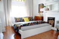 Trang trí phòng ngủ ấm cúng khi thu về