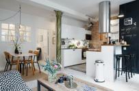 Trang trí nhà nhỏ theo phong cách Scandinavian