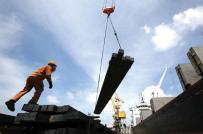 Nhập khẩu sắt thép tăng 41,9% về trị giá trong 2 tháng đầu năm