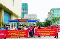 Người dân chung cư Hồ Gươm Plaza phản đối xây bể phốt trong tầng hầm
