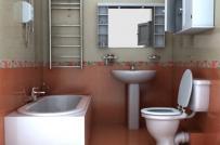 Nguyên tắc bố trí phòng vệ sinh tránh vận xui