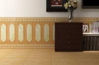 Ưu điểm và cách sử dụng gạch ốp chân tường phòng khách