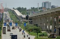 """Nhà thầu tuyến metro số 1 ở Sài Gòn """"gay gắt"""" đòi nợ"""