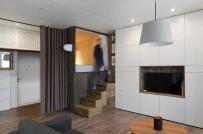 Ngắm căn hộ 35m2 đẹp mắt với 'hộp ngủ' tiết kiệm diện tích