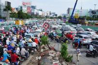 30/6, thông xe 2 cầu vượt vào sân bay Tân Sơn Nhất