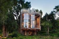Độc đáo nhà trên cây tiện nghi không kém khách sạn 5 sao