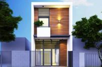 Mẫu nhà phố 2 tầng với chi phí 250 triệu đồng
