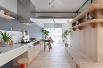 Phong cách nội thất tối giản trong căn hộ kiểu Nhật
