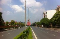 Hà Nội: Phê duyệt chỉ giới đường đỏ trục trung tâm hành chính Thạch Thất