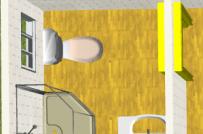 Cấm kị phong thủy khi đặt bồn cầu trong nhà
