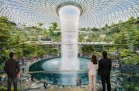 Công viên độc đáo trong sân bay Changi ở Singapore
