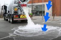 Bê tông xốp có thể hấp thụ nước