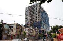 Dự án 8B Lê Trực: UBND phường Điện Biên sẽ khóa cổng dự án