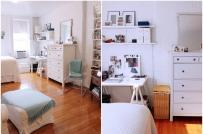 Cô gái trẻ bài trí căn hộ cho thuê thoáng đẹp và ấm cúng