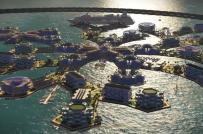 Mô hình thành phố nổi có thể di chuyển trên biển
