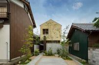 Ngôi nhà ống 2 tầng ngập tràn nắng gió của người Nhật