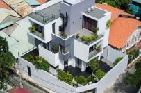 Chiêm ngưỡng ngôi nhà khối hộp xinh đẹp giữa Sài Gòn