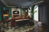 Phòng khách kết hợp hài hòa phong cách cổ điển và hiện đại