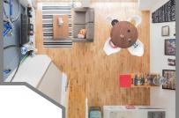 Căn hộ nhỏ 25m² của vợ chồng người Nhật