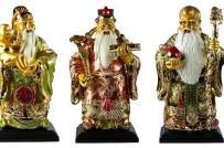 Bày tượng Phúc - Lộc - Thọ trong dịp năm mới sao cho đúng?