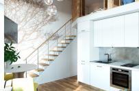 Mãn nhãn những thiết kế gác lửng dành cho nhà chật hẹp