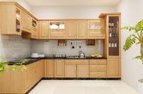 Những mẫu tủ bếp đơn giản những vẫn khiến không gian đẹp đến không ngờ