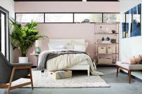 Bài trí phòng ngủ hiện đại, thư giãn với cây cảnh