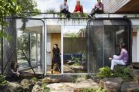 Ngôi nhà được làm từ vật liệu tái chế ở Australia