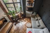 Mê mẩn vẻ đẹp của căn hộ chung cư 35m2 có gác lửng