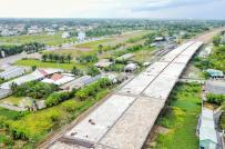 """Sở Xây dựng tỉnh Long An """"tuýt còi"""" hàng loạt dự án rao bán đất nền trái phép"""
