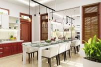 Cách trang trí phòng bếp nhỏ vừa đẹp, vừa gọn để đón Tết