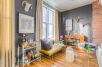 Những màu sơn tường ấn tượng cho phòng khách trong năm mới