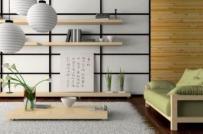 Học cách bài trí phòng khách theo phong cách nội thất Nhật Bản