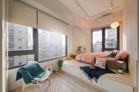 Cặp vợ chồng trẻ có được không gian sống lý tưởng sau khi cải tạo căn hộ chật chội