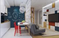 3 thiết kế nội thất siêu tiện ích cho căn hộ dưới 50m2
