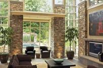 Ngôi nhà thêm ấn tượng với đá tự nhiên