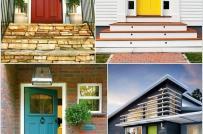 Những thiết kế mặt tiền giúp tạo ấn tượng cho ngôi nhà