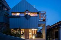 Nhà 2 tầng ở Nhật thu hút sự quan tâm của giới kiến trúc