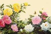Tranh hoa mẫu đơn hợp tuổi nào? Tranh hoa mẫu đơn treo ở đâu là tốt nhất?