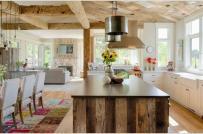 Phòng bếp thêm sống động nhờ thảm trang trí