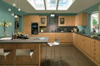 Cách lựa chọn màu sắc hợp phong thủy cho phòng bếp