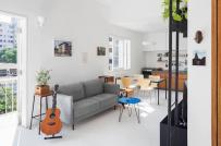 Học cách bài trí nội thất thông minh bên trong căn hộ 50m2
