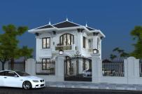 Tư vấn thiết kế biệt thự 2 tầng phong cách cổ điển trên diện tích 10x11m