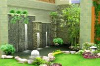 Phong thủy hồ nước trước nhà và tác dụng của hồ nước đối với gia đình