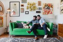 Căn hộ thuê quá đỗi xinh xắn của cặp đồng tính nam khiến ai cũng trầm trồ khen ngợi