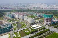 Giá bán căn hộ cao cấp tại Thủ Thiêm đang giữ mức trần gần 3.000 USD/m2