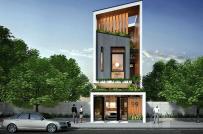 10 mẫu thiết kế mặt tiền nhà phố 3 tầng được yêu thích nhất năm 2018