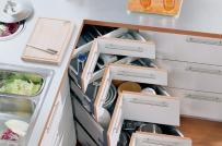 4 thiết kế ngăn lưu trữ thần thánh cho tủ bếp