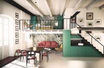 Ấn tượng với ngôi nhà được trang trí màu sắc theo phong cách Ý